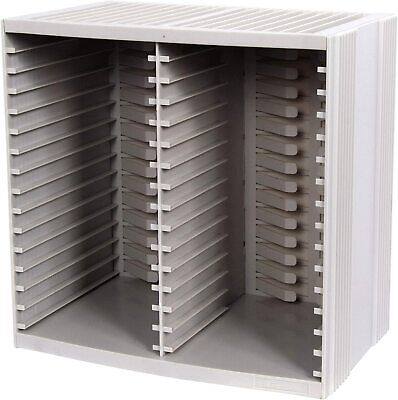 £20.99 • Buy Title Fellowes CD Storage/Organizer Unit Holds 30 Discs + 18 On Top Of CD Rack