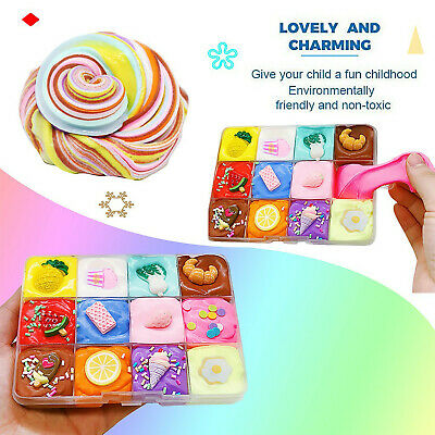 AU12.22 • Buy Fairy Floss Cloud Slime Reduced Pressure Mud Stress Relief Kids Clay Toy 9 Color