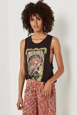 AU89 • Buy SPELL & THE GYPSY COLLECTIVE Black Wild Child Tank Sz XL Or 14 [sh