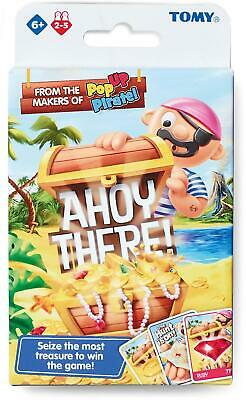 £6.29 • Buy Tomy POP UP PIRATES AHOY THERE CARD GAME Children's Travel Toy Gift 4 Yrs+ BN