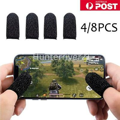 AU7.95 • Buy 4/8X Sweat-Proof Finger Sleeve Mobile Phone Tablet PUBG CODM Game Touch Screen