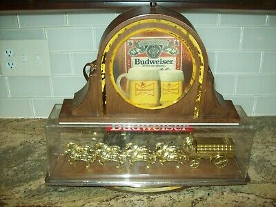 $ CDN37.75 • Buy Vintage Budweiser  WORLD'S CHAMPION CLYDESDALE TEAM  BEER SIGN