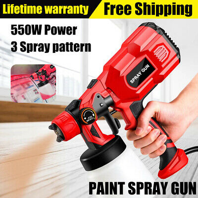 £25.79 • Buy Paint-Sprayer-Spray Gun Airless Electric 550W Home/Outdoor Wall Fence Car