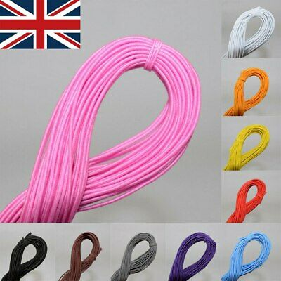 £2.49 • Buy 25m Elastic Stretchy Beading Thread Cord Bracelet Strings For Jewelry Making DIY
