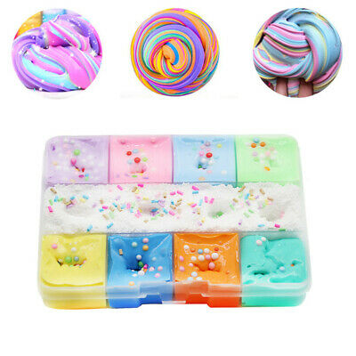 AU10.89 • Buy Fairy Floss Cloud Slime Reduced Pressure Mud Stress Relief Kids Clay Toy 9Color