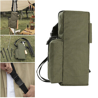 AU14.94 • Buy Portable Tent Pegs Storage Bag Stakes Organizer Pouch Fishing Accessories