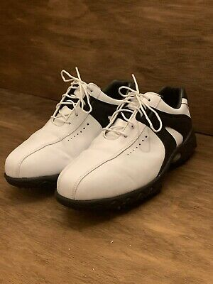 $59.99 • Buy FootJoy Golf Shoes White And Black Leather Men's 10.5