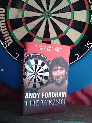 £74.99 • Buy ANDY FORDHAM SIGNED  Hb 2009  1/1 THE VIKING  AUTOBIOGRAPHY DARTS LEGEND
