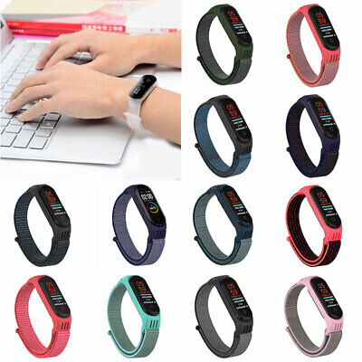AU4.04 • Buy New Fit For Xiaomi Mi Band 6 5 4 3 Replacement Nylon Strap Wristband Watchband