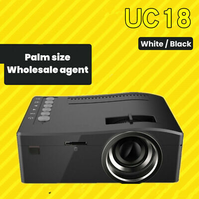 AU59.66 • Buy UC18 HD Home Mini Mini Projector Home Theater Computer LED Portable Projector