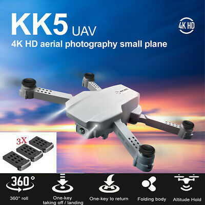 AU47.69 • Buy WiFi FPV With 4K HD Single Camera Altitude Hold Mode Foldable Drone Quadcopter