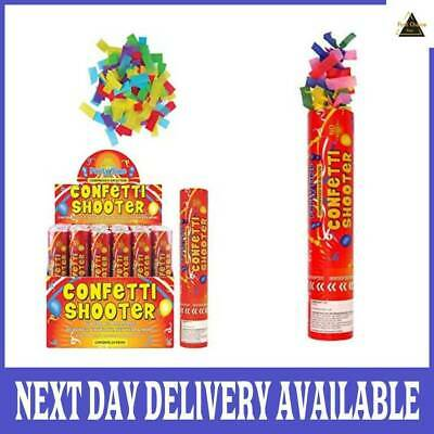 £11.79 • Buy 20cm Large Party CONFETTI Cannons Poppers Shooter Wedding New Years Large Giant