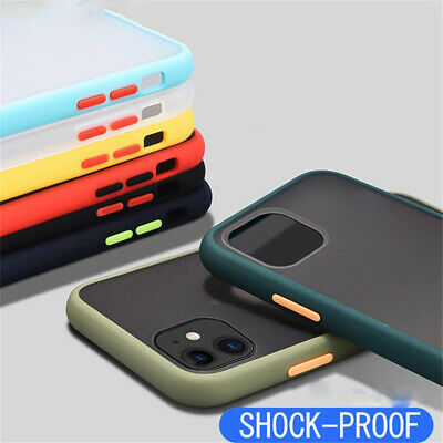 AU5.79 • Buy Shockproof Case For IPhone 6 6S 7 8 Plus 11 12 Pro Max XS XR Hard PC Back Cover