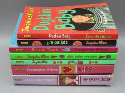 £4.99 • Buy Jacqueline Wilson  - 7 Editions For 12+ Includes Dustbin Baby / Kiss / Girls In