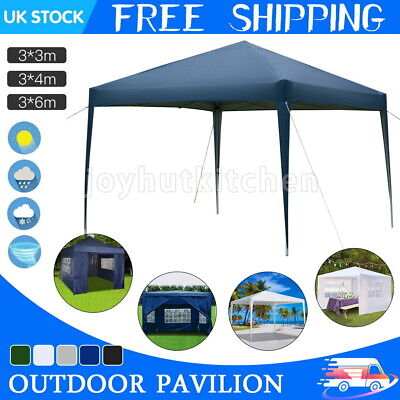 £58.99 • Buy Outdoor Pop-up Gazebo Marquee Waterproof Garden Awning Party Tent Canopy