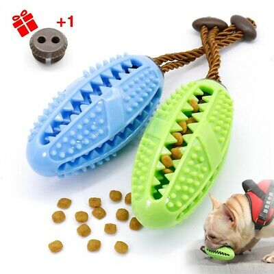 £6.99 • Buy Dog Toothbrush Chew Toy Pet Treat Food Dispenser Dental Care Teeth Cleaning Toys