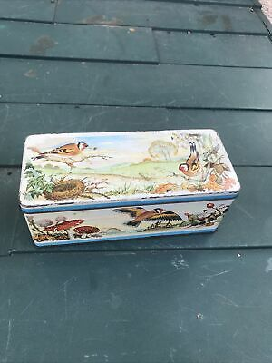 £11.98 • Buy VINTAGE  W R JACOB & Co ( LIVERPOOL ) LTD Finches BISCUIT TIN
