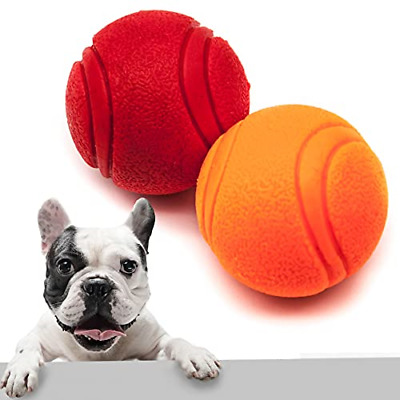 £7.56 • Buy Pet Touch Solid Core Rubber Ball HIGH BOUNCING Dog Toys Indestructible Virtually