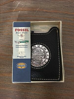 $30 • Buy Fossil Genuine Classics Front Pocket Wallet- Limited Edition