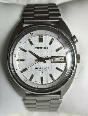 $ CDN67.51 • Buy Vintage Seiko Bell-Matic 4006-6031 Automatic Day Date Stainless Steel Mens Watch
