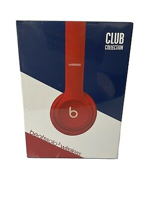 $ CDN96.94 • Buy BEATS WIRELESS Headphones Solo 3 Club Collection RED RARE Brand New SEALED