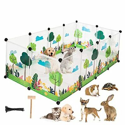 £53.76 • Buy  Pet Playpen For Puppies/Rabbits/Kittens/Guinea Pigs/Small Animals, Plastice