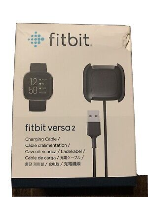 $ CDN14.98 • Buy Fitbit Charging Cable For Fitbit Versa - Black NEW In Box SEALED