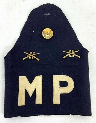 $35 • Buy Vintage US Army Military Police Brassard With Pins
