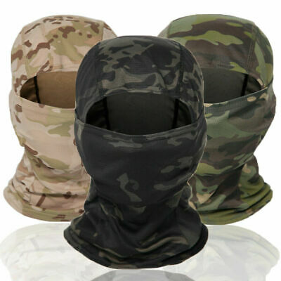 $7.99 • Buy Military Tactical Camouflage Balaclava Windproof Full Face Mask Helmet Liner Hat