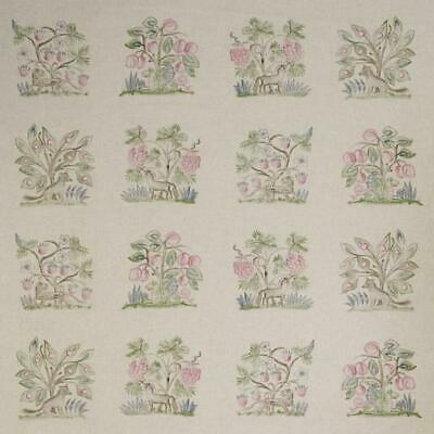 £39.99 • Buy ANDREW MARTIN CURTAIN FABRIC DESIGN  Hedgerow  1.4 METRES CERISE LINEN BLEND