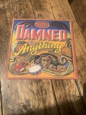"""£9.99 • Buy The Damned Anything 1986 UK Vinyl LP """"Pop-Up  GF Sleeve Plays Nicely 1st Press"""