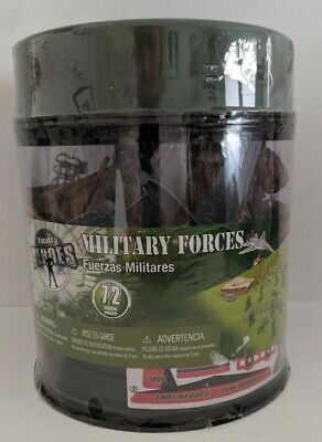 $18.70 • Buy Toy Soldier Playset True Heroes 72 Piece Military Forces Toys R Us Exclusive NEW