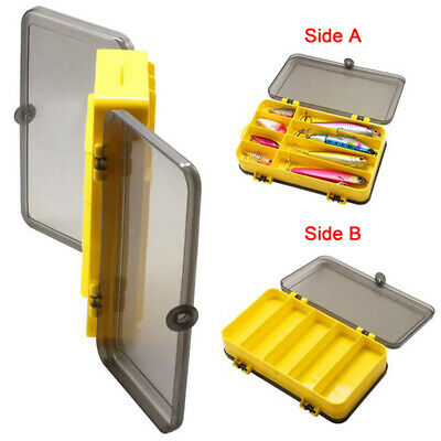 AU11.95 • Buy Waterproof Double-sided Fishing Tackle Box Fishing Lure Storage Case Portable