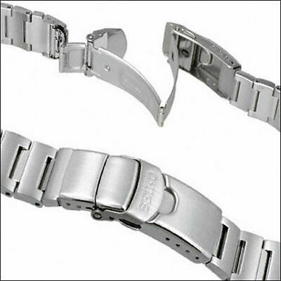 $ CDN95.19 • Buy Seiko Stainless Steel 20mm Bracelet For 1st And 2nd Gen Monster Watches #49X8JG