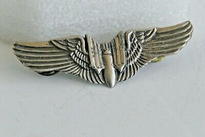 $15 • Buy U.S. Military Medal 2 Inch WWII Bomber Pilot Wings Pin