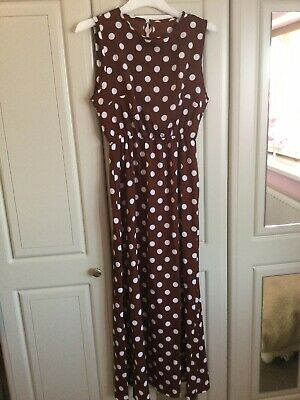 £4.99 • Buy Ladies Ankle Length Dress. Size 12