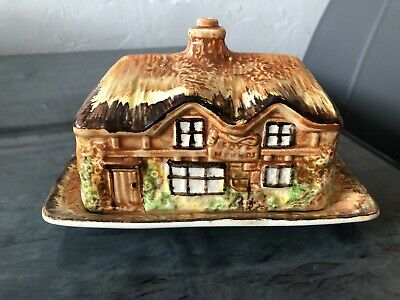 £4.99 • Buy Cottage Ware Butter Dish Price Bros  Made In England VGC Vintage