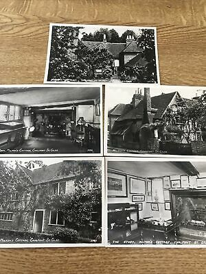 £3 • Buy Chalfont St Giles. Miltons Cottage Real Photo Postcards. 5 Cards By RA