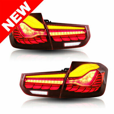 $399.99 • Buy For 2012-18 BMW F30 3-Series SEDAN-M4 GTS Style Sequential Signal LED Taillights