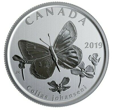 $10.37 • Buy Canada 50 Cents Coin Wildlife Treasury Butterfly Uncirculated 2019
