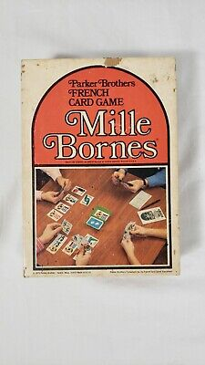 $14 • Buy Vintage Mille Bornes 1964 Parker Brothers French Card Game Cards Complete