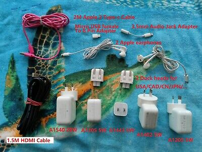 AU55 • Buy Genuine Apple Accessories (Chargers,earphones,cable...) And A HDMI Cable