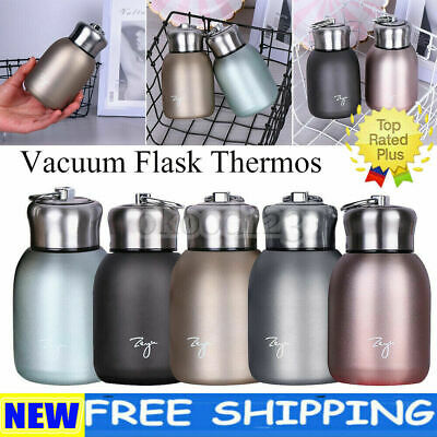 £7.45 • Buy Stainless Steel Vacuum Flask Thermos Cup Small Mini Travel Drink Mug Coffee Cup
