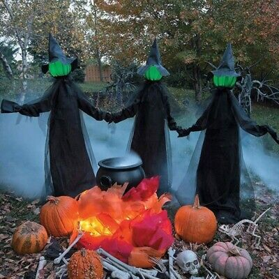 $ CDN62.93 • Buy Outdoor Halloween Haunted Decoration Voice Control Glow And Sound Party Props