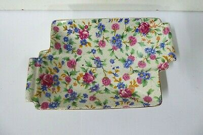 $ CDN54.66 • Buy Royal Winton Grimwades Old Cottage Chintz Floral All Over Dish Plate  Art Deco