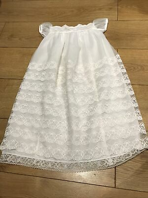 £14.50 • Buy Vintage White Lace Christening Gown