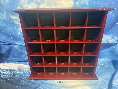 £14.99 • Buy 25 Ball Golf Ball Cabinet   Display Unit   Wooden Construction