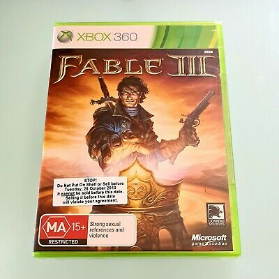 AU12 • Buy Fable Iii (3) • Microsoft Xbox 360 (pal) • Action/adventure • Brand New & Sealed