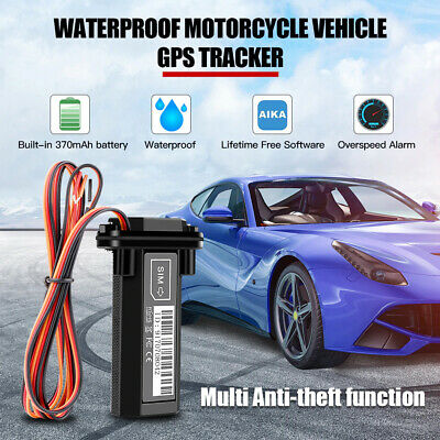 £17.39 • Buy Waterproof Car GPS Tracker Vehicle Spy GSM Real Time Tracking Locator Device UK