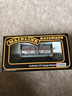 £9 • Buy MAINLINE SHELL Tank Wagon OO Gauge Silver Good Condition Boxed
